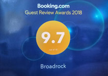 Booking.com review of 9.7