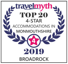 Top 20 4 star accommodation in Monmouthshire